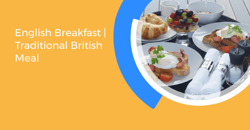 An image of English breakfast