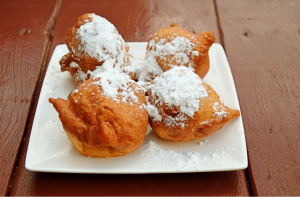 An image of banana fritters