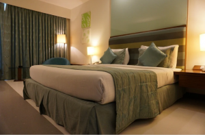 An image of hotel room - room service sop
