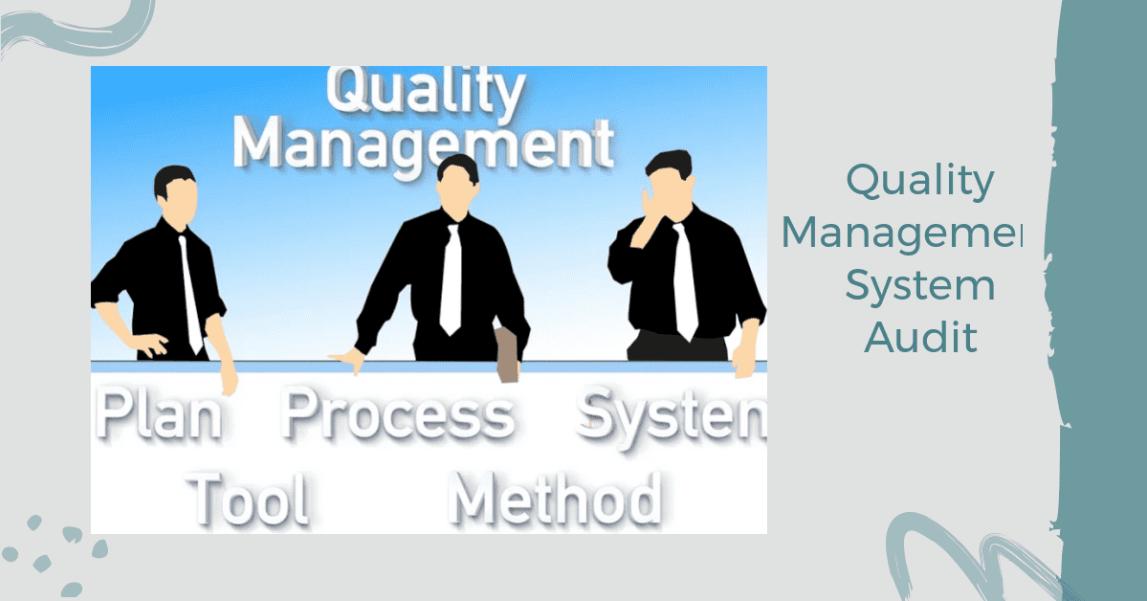 An illustration of internal qms audit