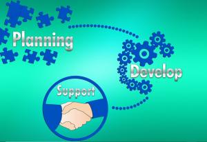 An illustration of service process design
