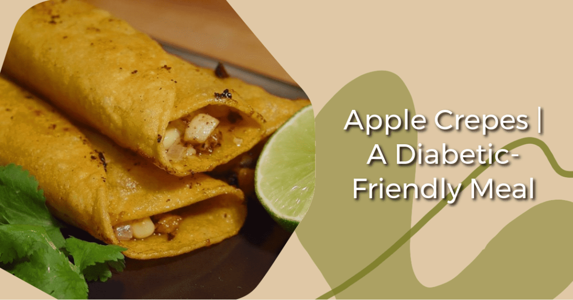 An image of apple crepes