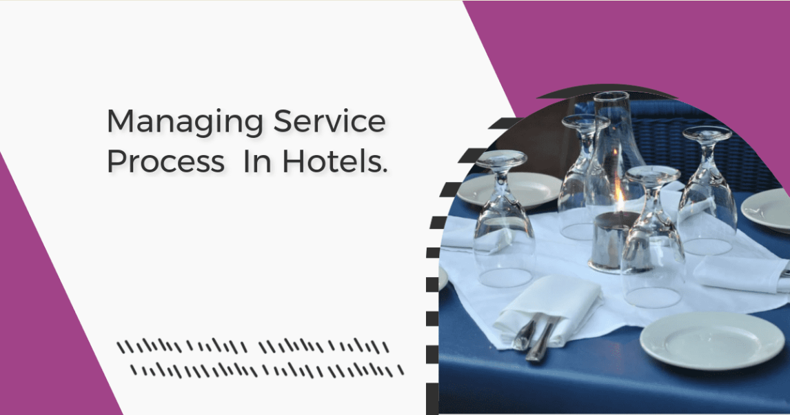 An image showing restaurant table setup - service process in hotels
