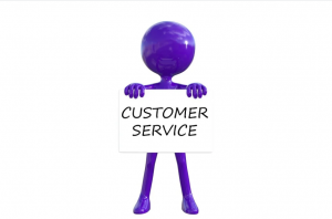 An image of customer service