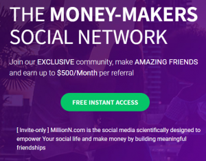 The Money Makers Social Network